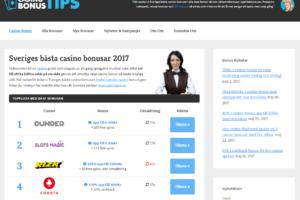Casino bonusar utan insättning